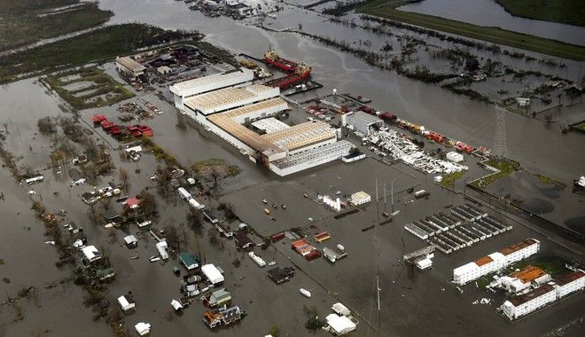 Τυφώνας Άιντα: Νυχτερινή απαγόρευση στη Νέα Ορλεάνη, χωρίς ρεύμα παραμένει η Λουιζιάνα