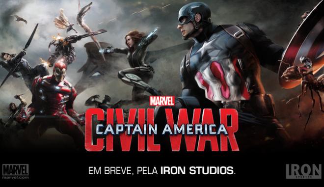 Το νέο τρέιλερ του Captain America: Civil War κυκλοφορεί και τα σπάει