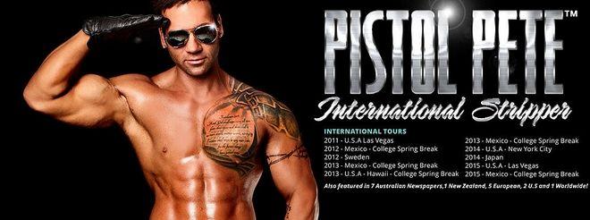 Pistol Pete: Ο πιο ηθικός στρίπερ του πλανήτη είναι Έλληνας