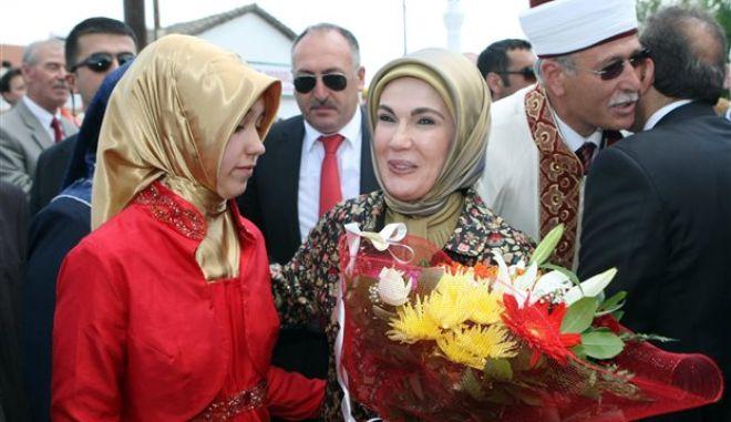 Εμινέ Ερντογάν: Το χαρέμι ήταν σχολείο για την προετοιμασία των γυναικών