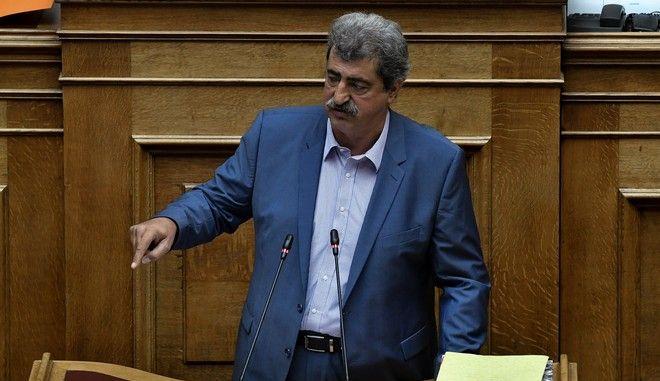 Συζήτηση και λήψη απόφασης για αιτήσεις άρσης ασυλίας του βουλευτή Π. Πολάκη