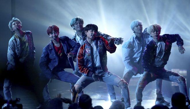 Το κορεατικό συγκρότημα BTS