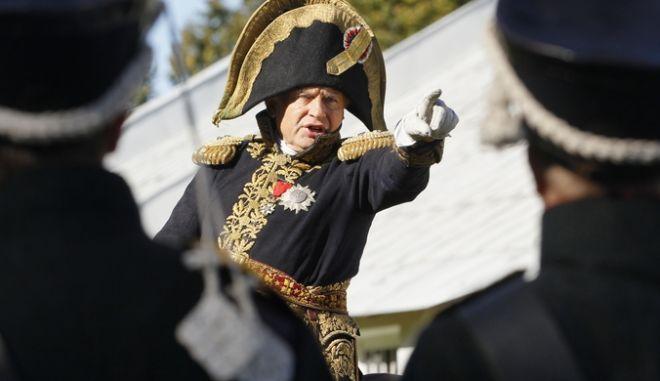O Oλεγκ Σοκόλοφ ως Ναπολεόντας