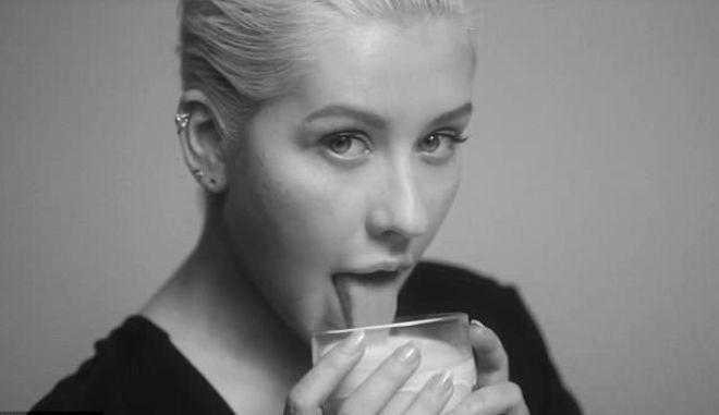 Η Christina Aguilera