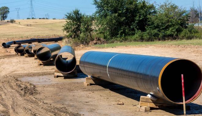 Αγωγός φυσικού αερίου.