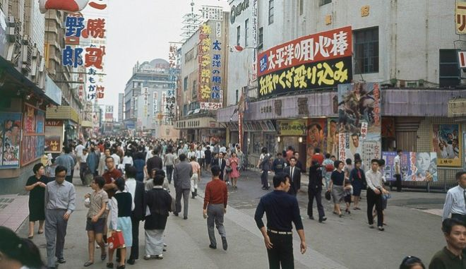 Στιγμιότυπο από το Τόκιο