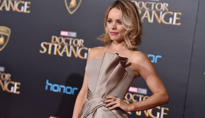 "Rachel McAdams arrives at the Los Angeles premiere of ""Doctor Strange"" at the TCL Chinese Theatre on Thursday, Oct. 20, 2016. (Photo by Jordan Strauss/Invision/AP)"