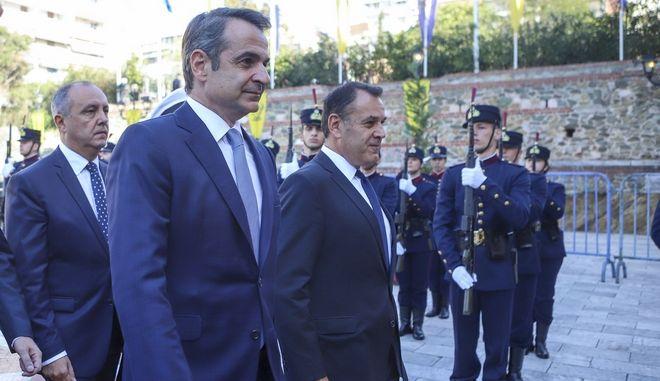 O πρωθυπουργός στον Άγιο Δημήτριο Θεσσαλονίκης.