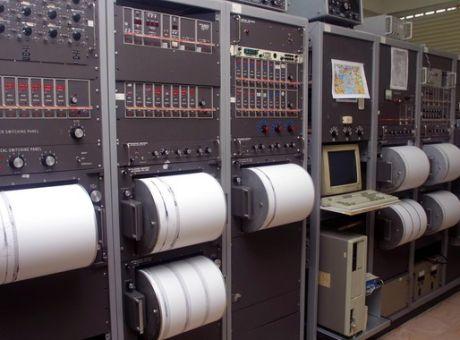 Κέντρο καταγραφής σεισμικής δραστηριότητας
