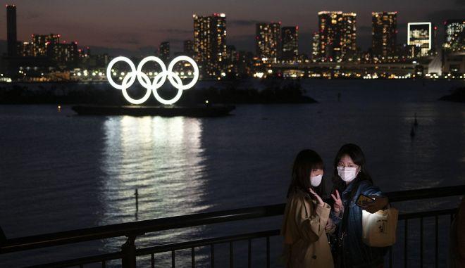 Το ολυμπιακό Τόκιο τον Μάρτη του 2020
