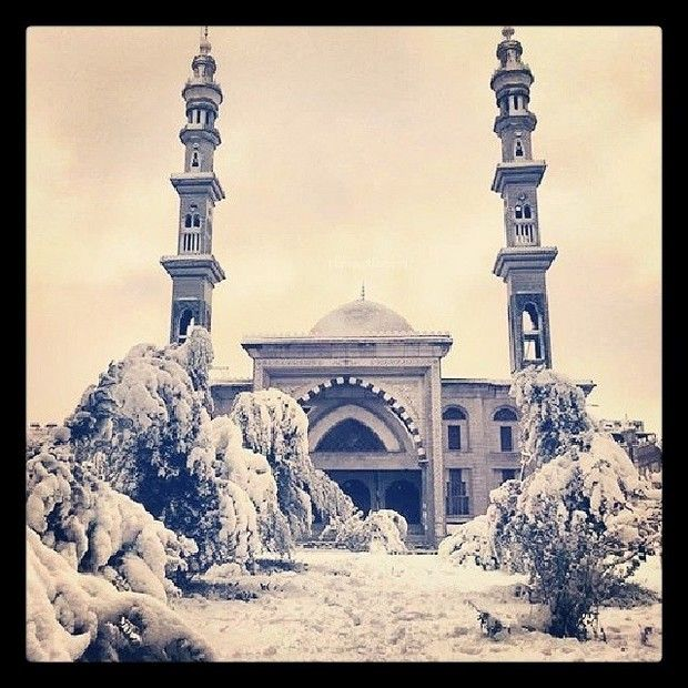 Σπάνιες φωτογραφίες: Χιόνια στην Αίγυπτο μετά από 112 χρόνια