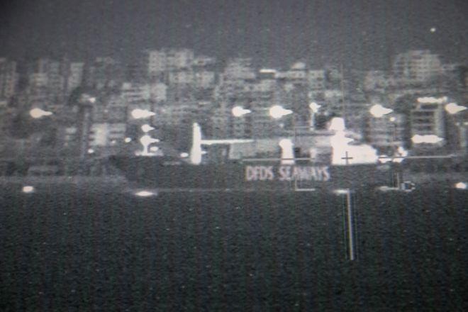 Tirsdag ble f¿rste last med kjemiske stridsmidler fraktet ut av Syria. Den dansk-norske marinestyrken gikk inn til havnebyen Latakia, der det danske lasteskipet