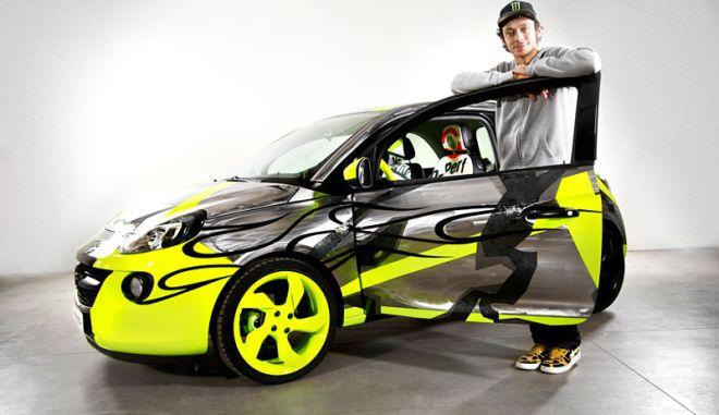 Στο eBay το ADAM που σχεδίασε ο πρωταθλητής του Moto GP Valentino Rossi