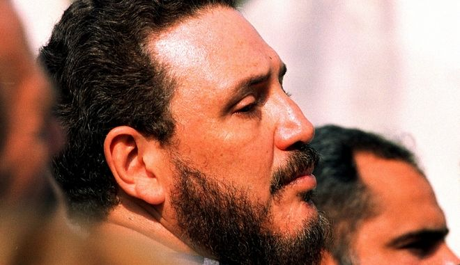The son of Cuban leader Fidel Castro,  Fidel Castro Diaz Balart, attends a funeral in this May 1999 picture in Havana. If the Cuban leader seems to be taking the case of six year-old Elian Gonzalez personally, it may be because he was party himself to a custody battle involving his first-born son more than four decades ago. (AP Photo/Jose Goitia)