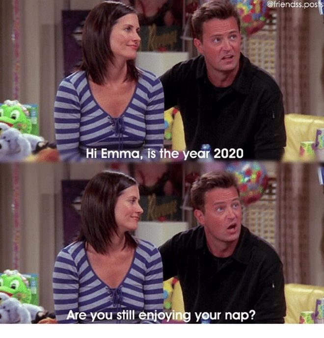 Friends: Η Emma απαντά στην ερώτηση του Chandler 17 χρόνια μετά