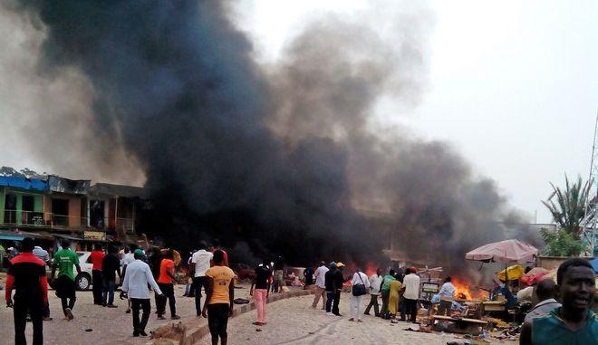Έκρηξη στη Νιγηρία (ΦΩΤΟ ΑΡΧΕΙΟΥ)