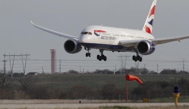 Heathrow: Κατέρρευσε το μπροστινό μέρος αεροσκάφους Dreamliner 787 της British Airways
