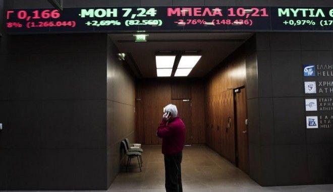 Χρηματιστήριο: 'Μαύρη' Δευτέρα με κατάρρευση των τραπεζικών μετοχών