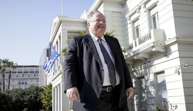 Ο υπουργός Άμυνας, Νίκος Κοτζιάς