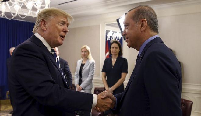 Συγχαρητήρια Τραμπ σε Ερντογάν για την εκλογική νίκη