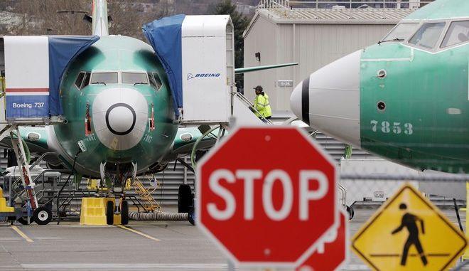 Η Boeing αναστέλλει την παραγωγή των 737 Max