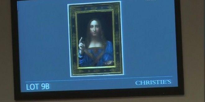 Ο 'Χριστός' του Ντα Βίντσι έκανε το 'θαύμα' του: Πωλήθηκε στην τιμή ρεκόρ των 380 εκατ. ευρώ