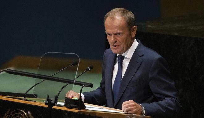 Φωτοαρχείο: Ο πρόεδρος του Eυρωπαϊκού Συμβουλίου, Donald Tusk