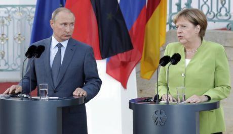 Απαραίτητη η συνεργασία με τη Ρωσία για τις πολλές συγκρούσεις παγκοσμίως δήλωσε η Μέρκελ