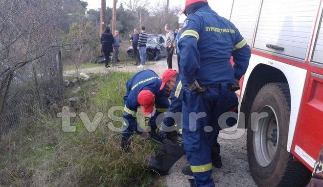 Τροχαίο δυστύχημα στην Ερέτρια: Νεκρή 43χρονη