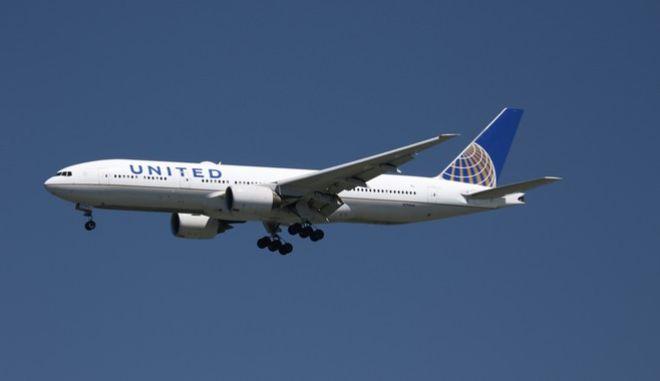 Αεροσκάφος της United Airlines