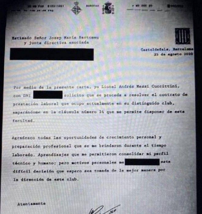 Μέσι: Γιατί έστειλε fax και όχι email στη διοίκηση της Μπαρτσελόνα