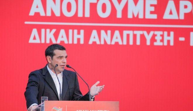 Συνεδρίαση πραγματοποιεί την Παρασκευή και το Σάββατο η Κεντρική Επιτροπή του ΣΥΡΙΖΑ. Οι εργασίες της Κεντρικής Επιτροπής άνοιξαν σήμερα με ομιλία του προέδρου του κόμματος και Πρωθυπουργού, Αλέξη Τσίπρα. Παρασκευή, 28 Ιουλίου 2017 (EUROKINISSI / ΓΙΩΡΓΟΣ ΚΟΝΤΑΡΙΝΗΣ)