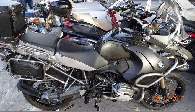 Αναγνωρίζετε την κλεμμένη σας μοτοσικλέτα;