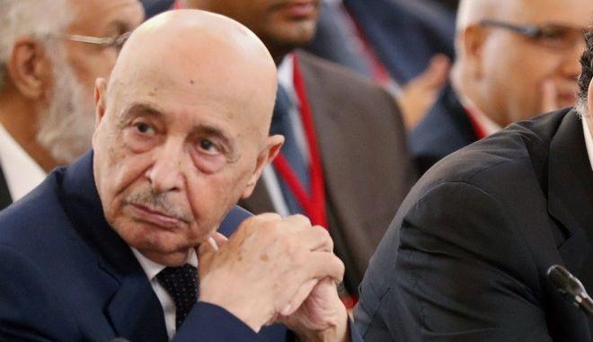 Ο πρόεδρος της Βουλής της Λιβύης Αγκίλα Σάλεχ