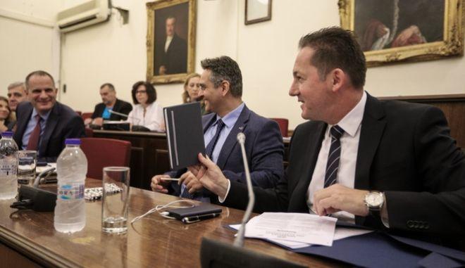 Ακρόαση από τα μέλη της Επιτροπής Θεσμών και Διαφάνειας της Βουλής των προτεινομένων για τη διοίκηση της ΕΡΤ.
