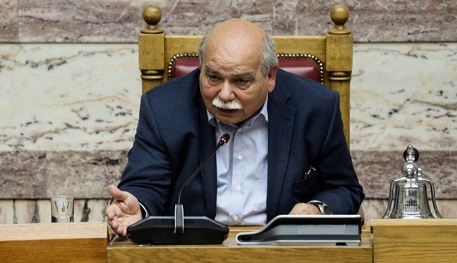 Φωτό αρχείου: Ο πρόεδρος της Βουλής Νίκος Βούτσης