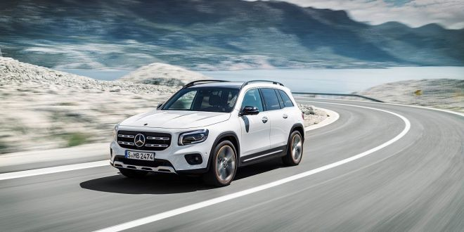 Mercedes-Benz GLB, Edition 1, digitalweiß   Mercedes-Benz GLB Edition 1, digital white