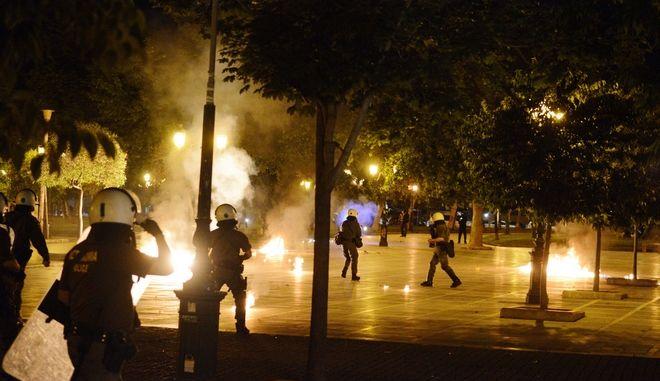 Θεσσαλονίκη: Ένταση μετά την πορεία αλληλεγγύης στον Κουφοντίνα