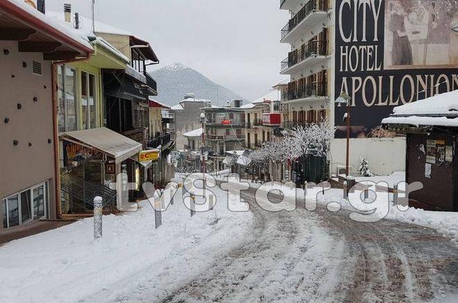 Στα 'λευκά' η Β. Ελλάδα - Μέχρι την Πέμπτη θα σαρώνει η 'Λητώ'