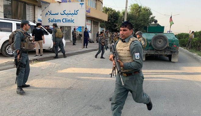 Δυνάμεις ασφαλείας του Αφγανιστάν - Φωτογραφία αρχείου