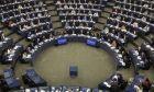 Στιγμιότυπο από συνεδρίαση του ευρωκοινοβουλίου στο Στρασβούργο