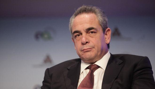 O πρόεδρος του ΕΒΕΑ Κωνσταντίνος Μίχαλος