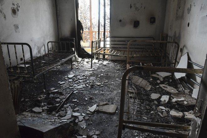Εικόνες καταστροφής από το Λύρειο (Eurokinissi/ΜΠΟΛΑΡΗ ΤΑΤΙΑΝΑ )