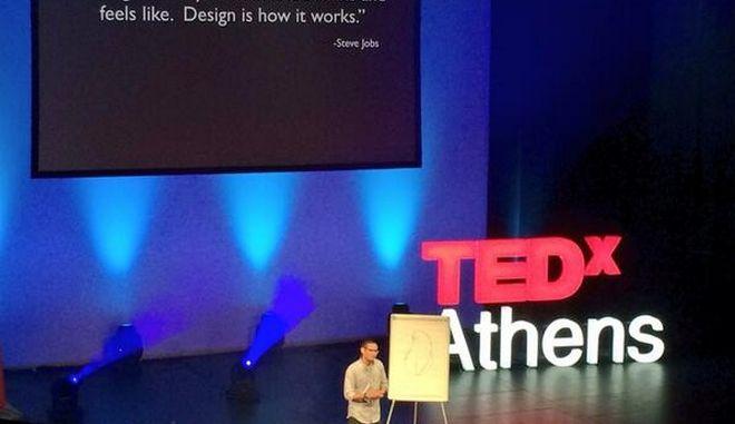 "TEDxAthens, μέρα δεύτερη, μέσα από τα λόγια του Ε. Τριβιζά: ""Η φαντασία χαρτογραφεί τα αχαρτογράφητα νερά"""