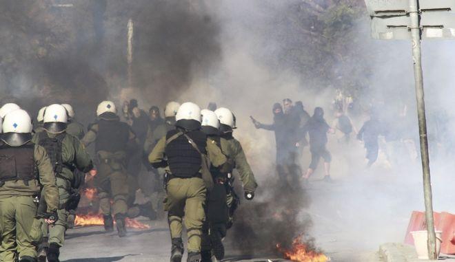 Επεισόδια στη Θεσσαλονίκη μετά την Πανβαλκανική πορεία