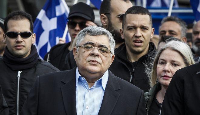 Ο Νίκος Μιχαλολιάκος και ο Ηλίας Κασιδιάρης