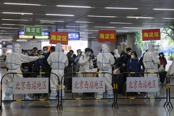 Έλεγχος στο αεροδρομίο της Κίνας