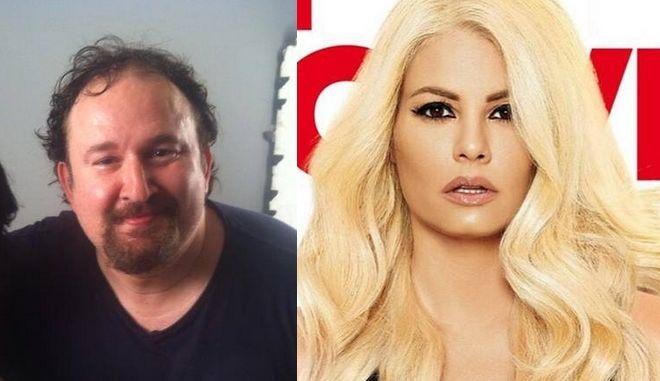 """Γιάννης Παπαμιχαήλ: Πώς αντέδρασε όταν είδε την ξανθιά Κορινθίου σαν """"Βουγιουκλάκη"""""""