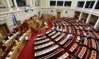 ΑΘΗΝΑ-ΒΟΥΛΗ//Συνέχιση της συζήτησης και ψήφιση του σχεδίου νόμου του Υπουργείου Εργασίας, Κοινωνικής Ασφάλισης και Κοινωνικής Αλληλεγγύης «Συνταξιοδοτικές ρυθμίσεις Δημοσίου και λοιπές ασφαλιστικές διατάξεις, ενίσχυση της προστασίας των εργαζομένων, δικαιώματα ατόμων με αναπηρίες και άλλες διατάξεις».(Eurokinissi-ΚΟΝΤΑΡΙΝΗΣ ΓΙΩΡΓΟΣ)