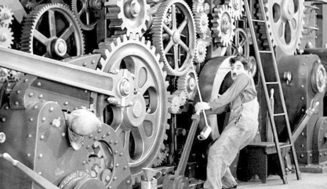 Μοντέρνοι Καιροί, κινηματογραφική ταινία του Τσάρλι Τσάπλιν